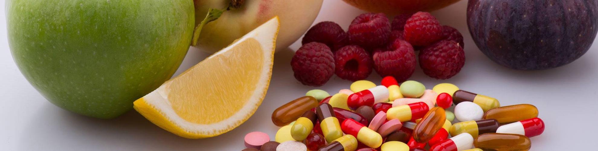 Vitmains And Fruits